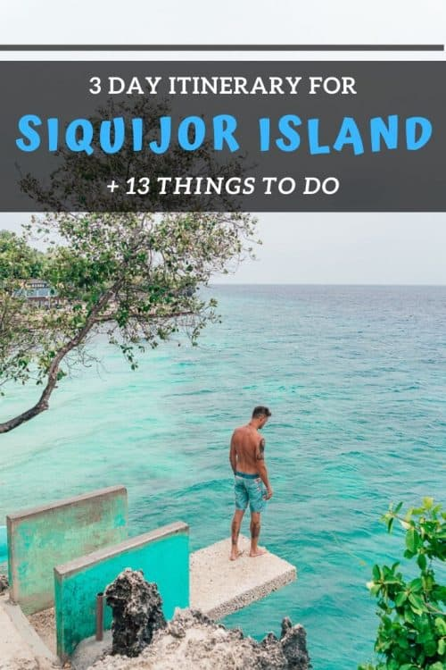 siquijor itinerary