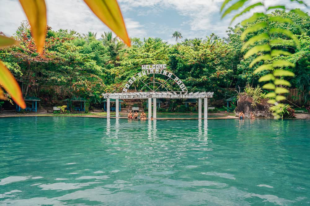 bura soda water swimming pool, soda water pool camiguin