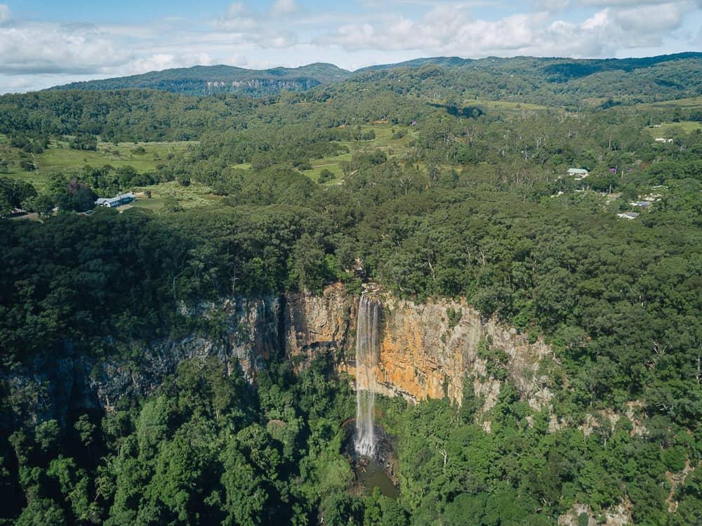 purlingbrook falls, purling brook falls, purlingbrook falls springbrook, purling brook falls springbrook, springbrook waterfall, springbrook national park walks