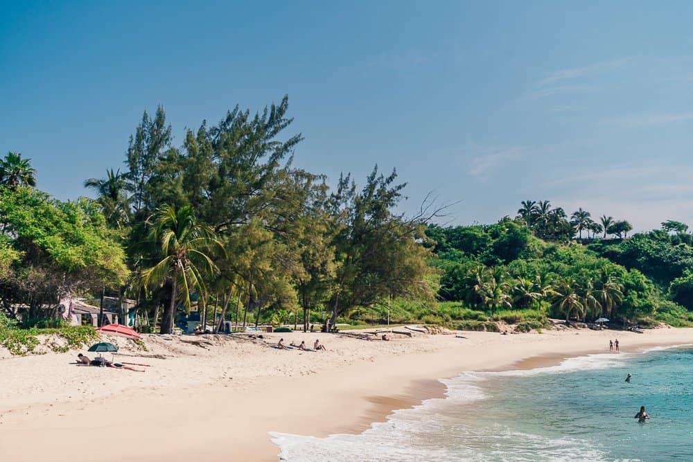 playa coral, playa coral puerto escondido, coral beach, coral playa