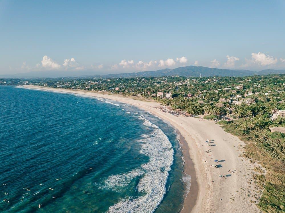 zicatela beach, zicatela beach puerto escondido, things to do in puerto escondido, what to do in puerto escondido