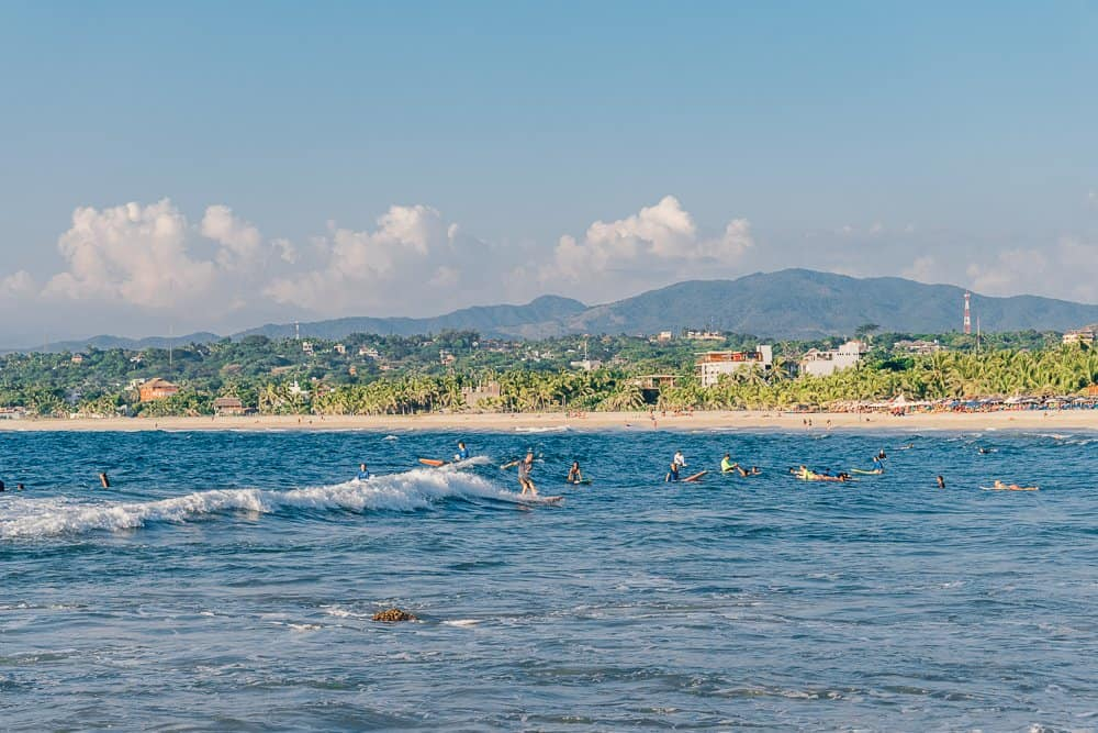 zicatela beach, zicatela beach puerto escondido, things to do in puerto escondido, what to do in puerto escondido, punta zicatela
