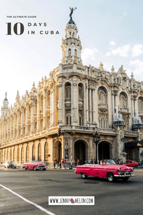 Cuba Itinerary, 10 days in cuba