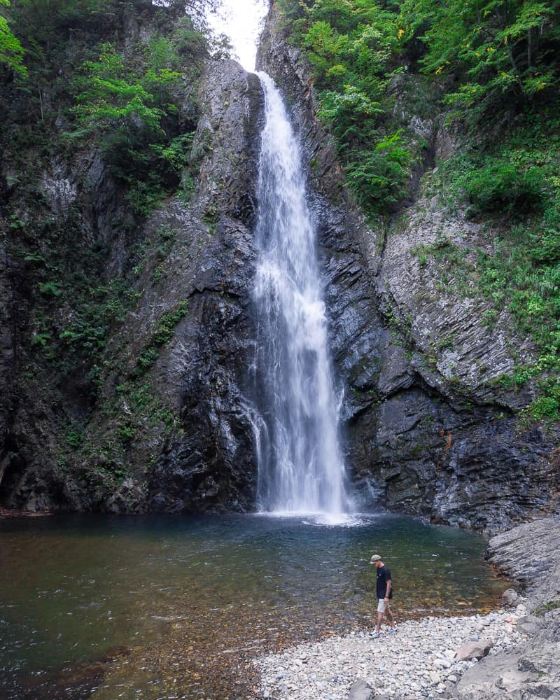 anmon gorge, shirakami-sanchi
