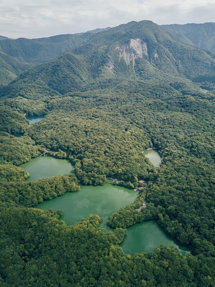 juniko, juniko lakes, aoiki pond, tohoku