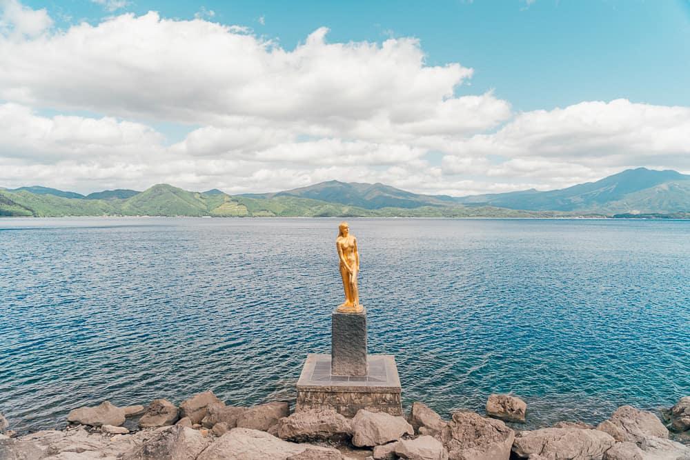 lake tazawa, tazawa lake, lake tazawa japan