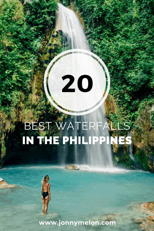 waterfalls in the philippines, philippines waterfalls
