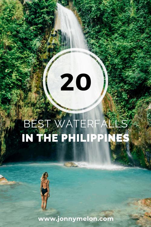waterfalls in the philippines, philippines waterfalls