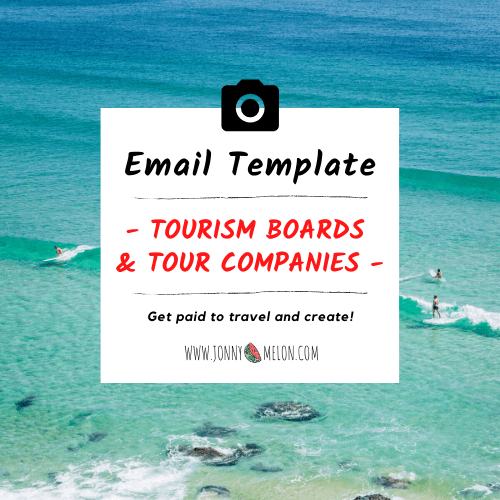 Email Template For Tourism