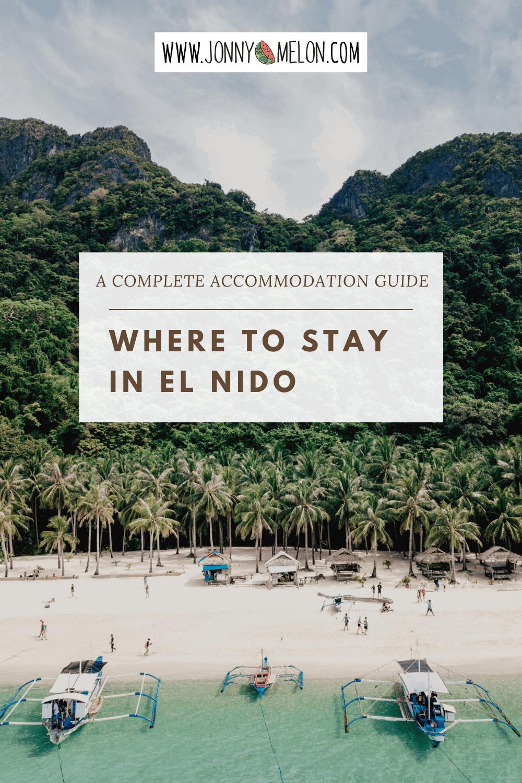 where to stay in el nido, el nido hostel, el nido hotel, best places to stay in el nido, el nido accommodation
