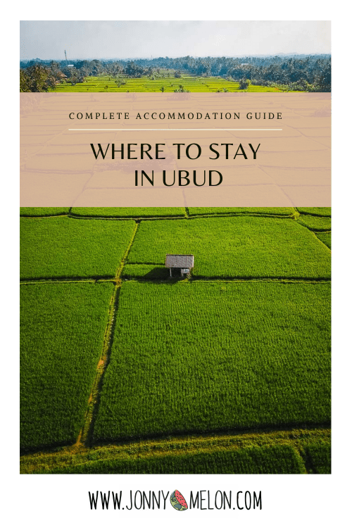 where to stay in ubud, ubud accommodation