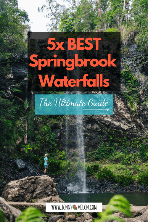 springbrook waterfalls