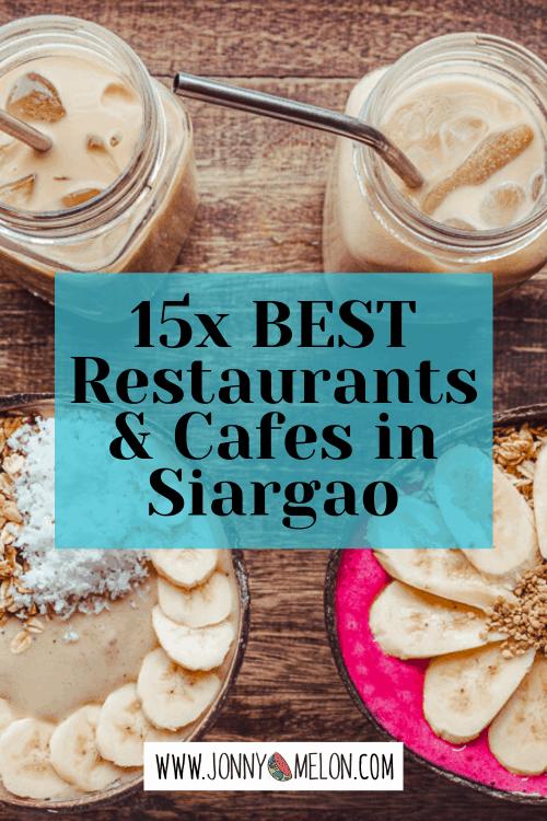 siargao restaurants, where to eat in siargao, best siargao restaurants