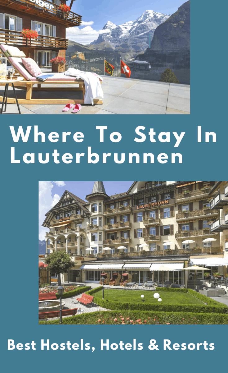 where to stay in lauterbrunnen, lauterbrunnen hotels, lauterbrunnen hostel, lauterbrunnen accommodation