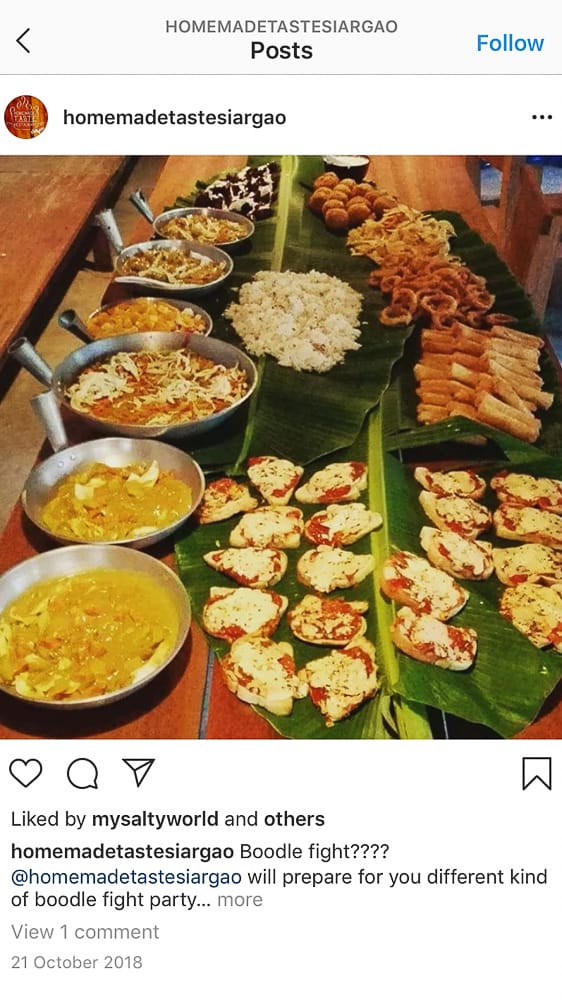 siargao restaurants, where to eat in siargao, best restaurants in siargao, food in siargao, restaurants in siargao