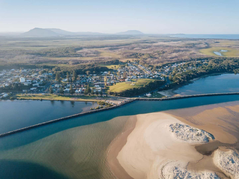 harrington beach, harrington nsw, harrington beach nsw, harrington new south wales