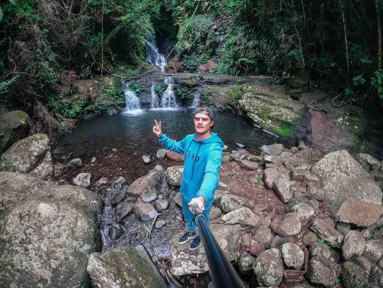 elebana falls, box forest circuit, lamington national park walks, lamington national park, lamington national park hikes, oreillys rainforest retreat