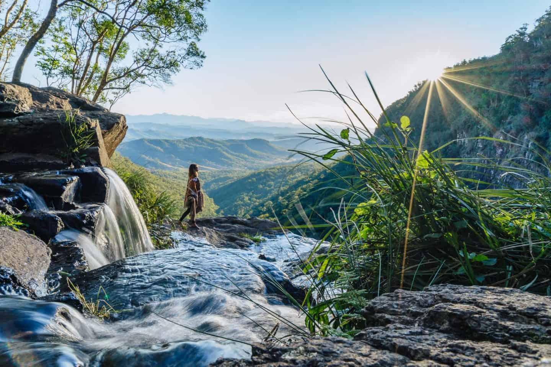 morans falls, moran falls, morans falls lamington national park, lamington national park walks, lamington national park, lamington national park hikes, oreillys rainforest retreat, morans falls lookout