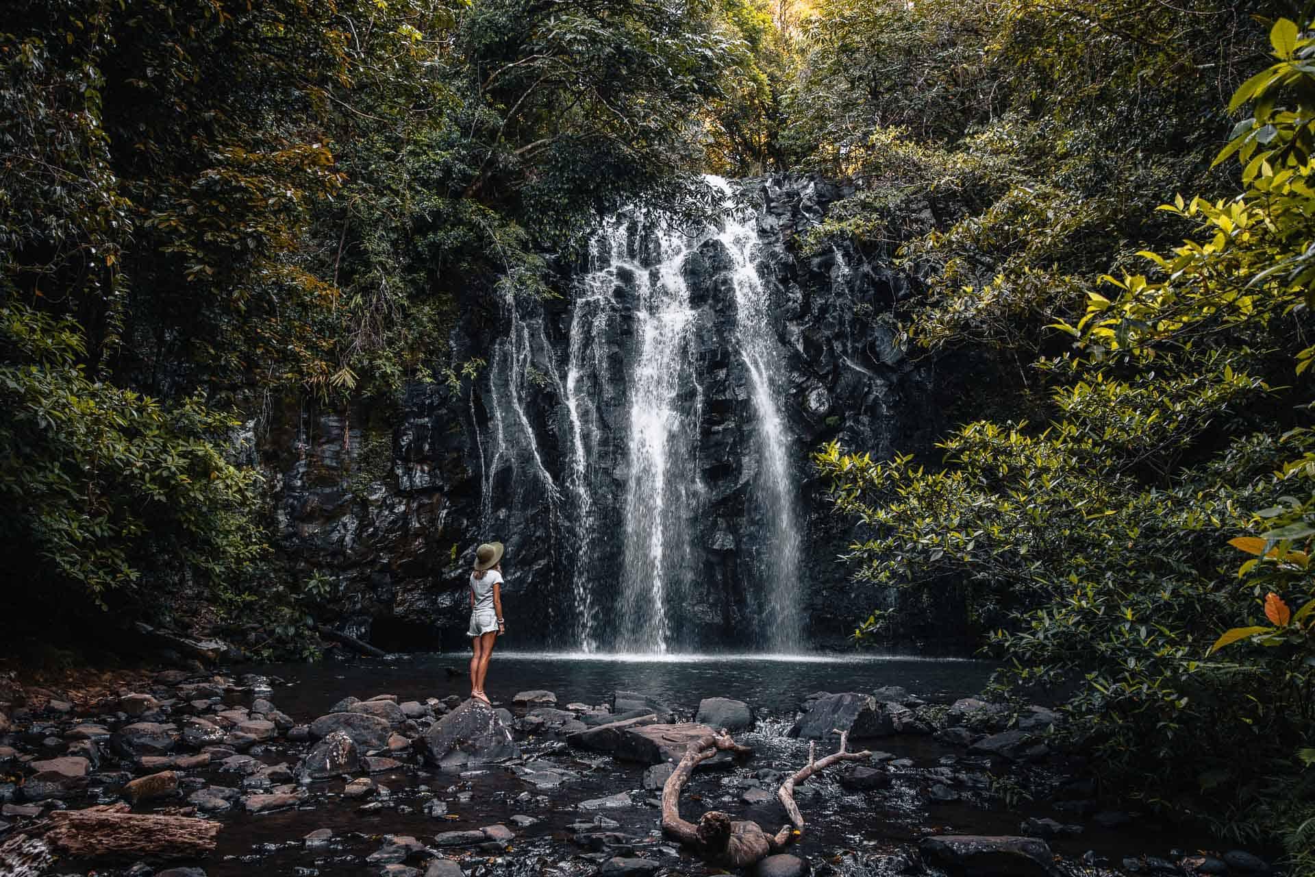 ellinjaa falls, ellinjaa falls queensland, ellinjaa falls australia, waterfall circuit cairns