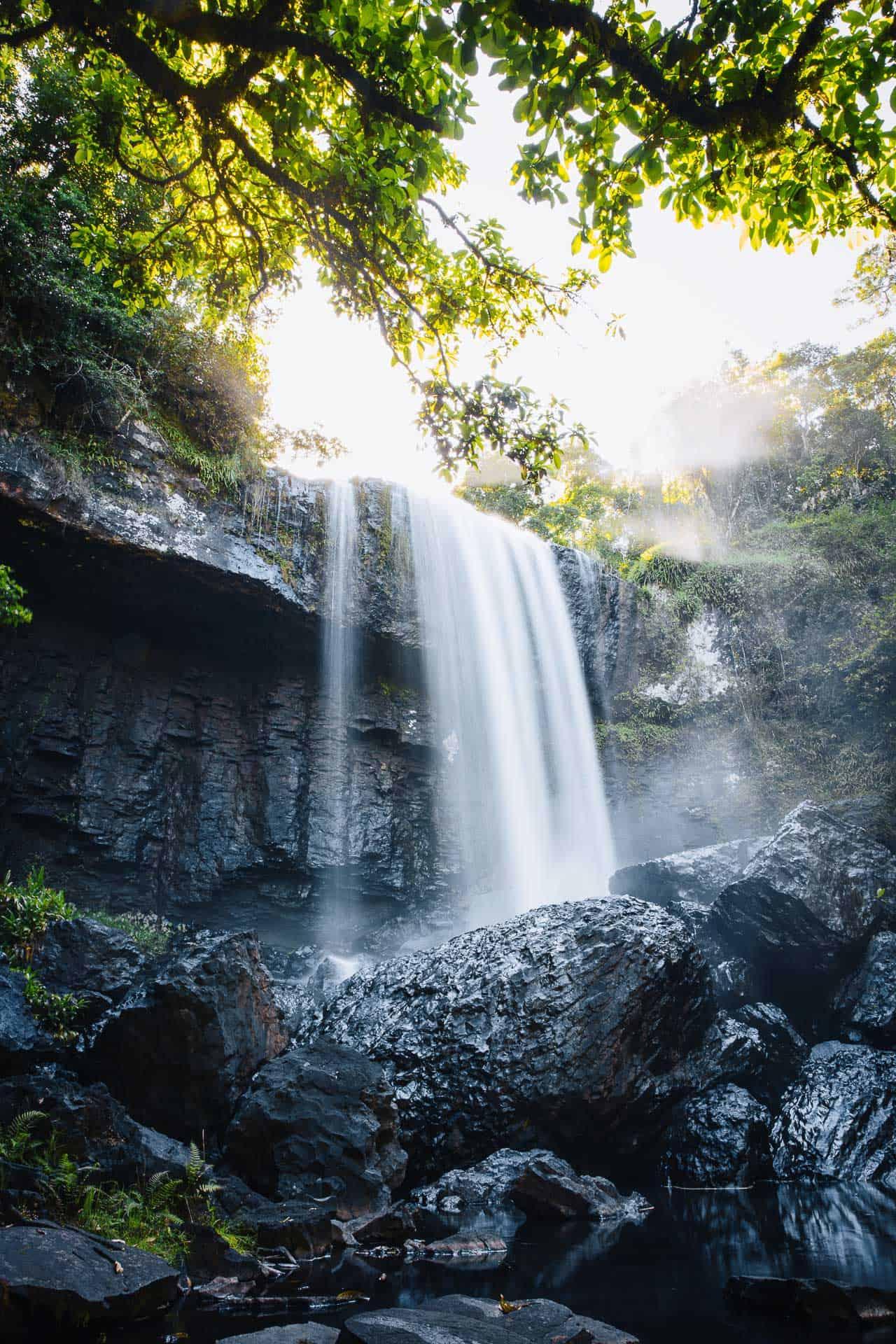 zillie falls, waterfall circuit cairns
