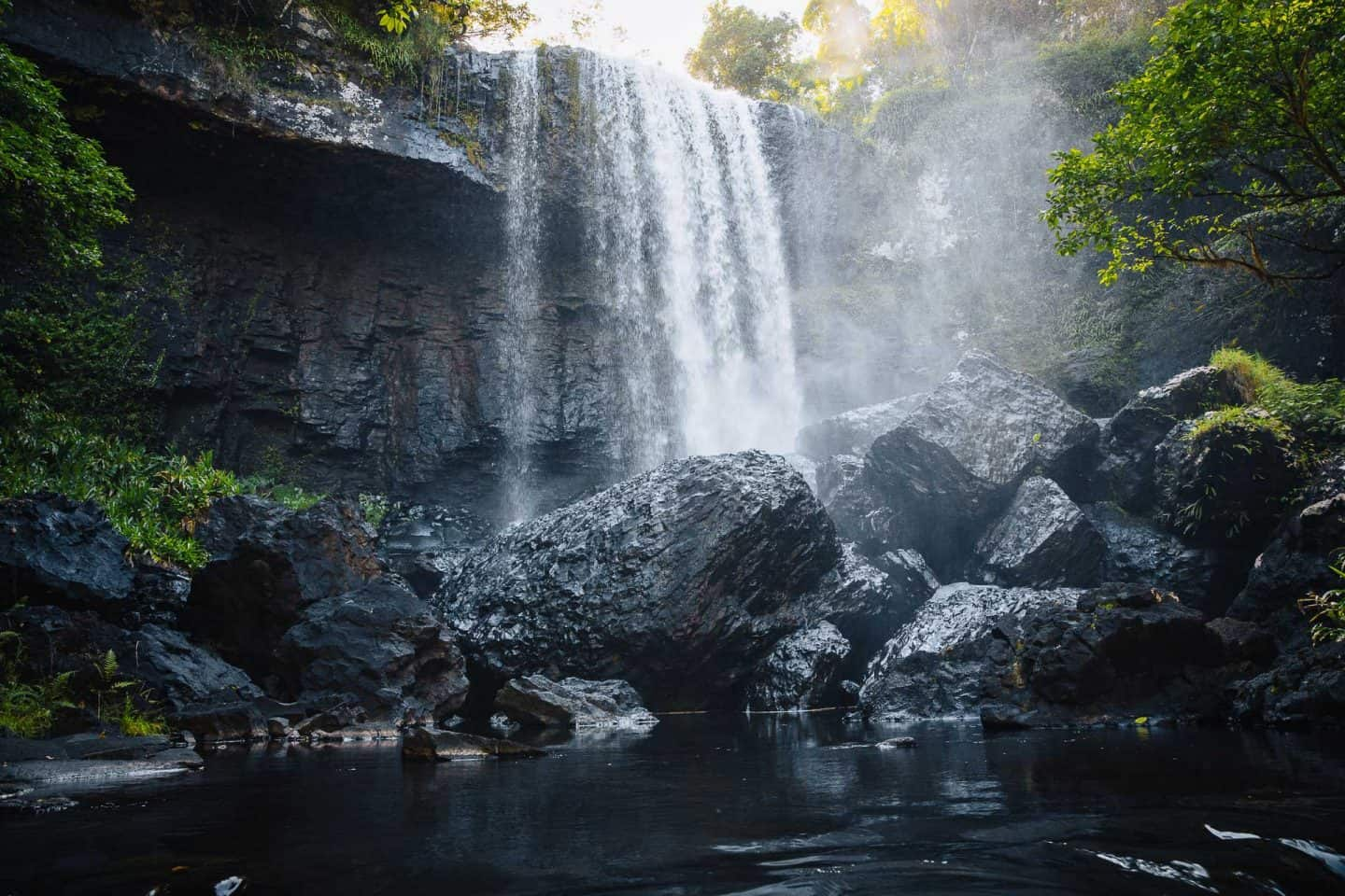 zillie falls, waterfall circuit cairns