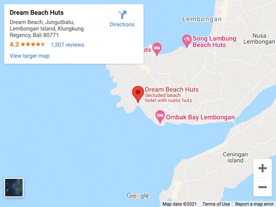 DREAM BEACH MAP
