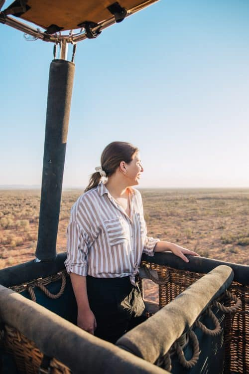 things to do in alice springs, what to do in alice springs, alice springs attractions, hot air balloon alice srpings
