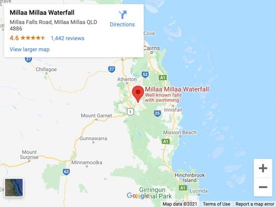 WATERFALL CIRCUIT MAP