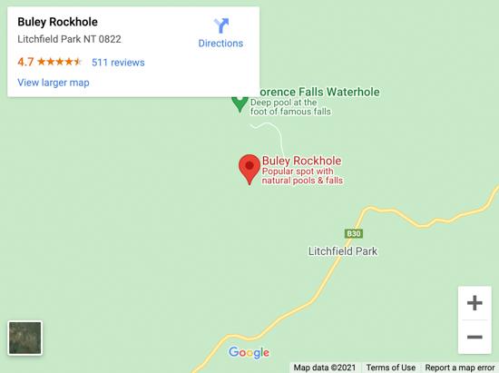buley rockhole map