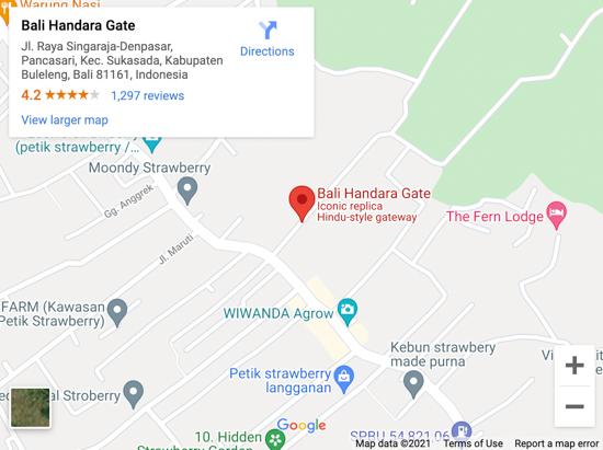 handara gate map