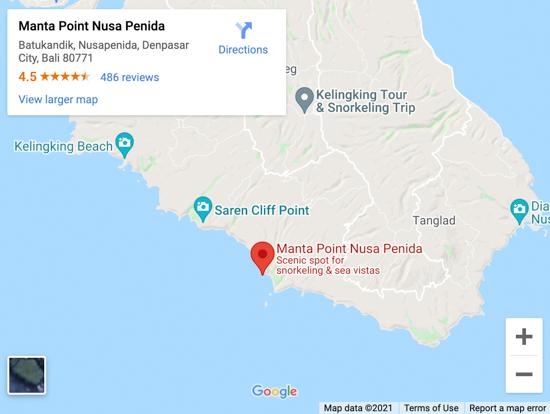 manta point map