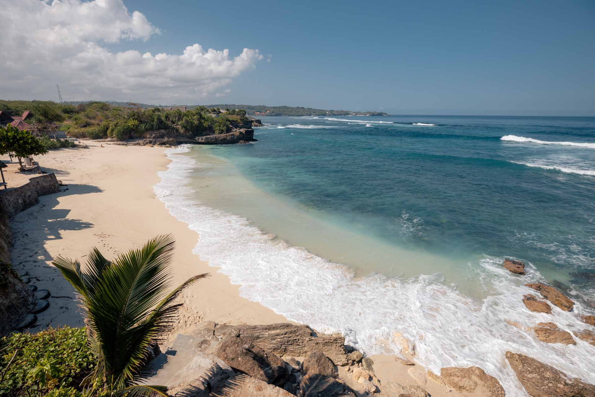 things to do in nusa lembongan, dream beach nusa lembongan