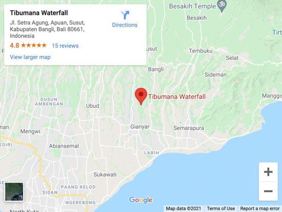 tibumana map