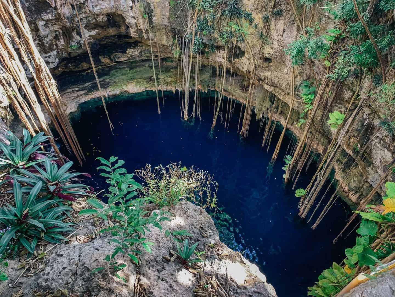 cenote oxman, oxman cenote