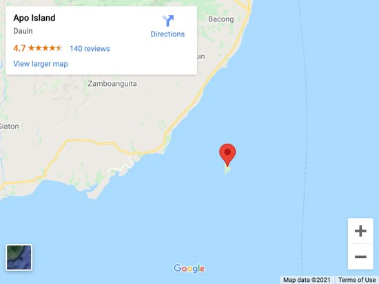 apo island map