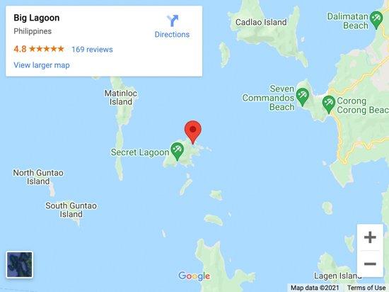 big lagoon map