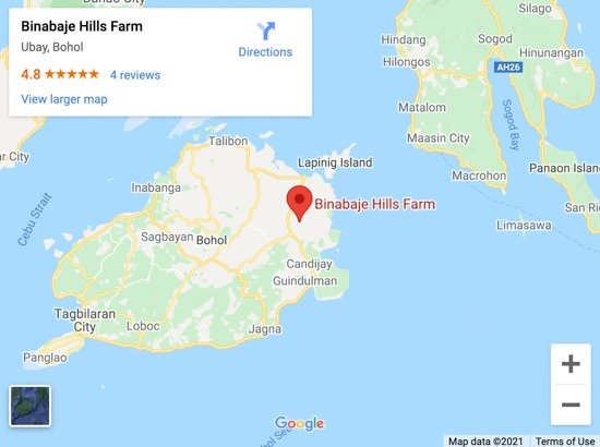 binabaje hills map
