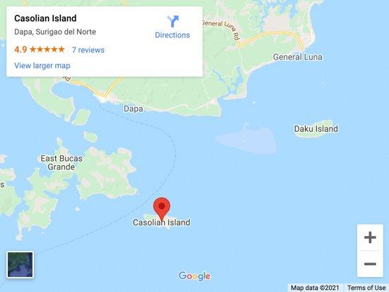 corregidor map