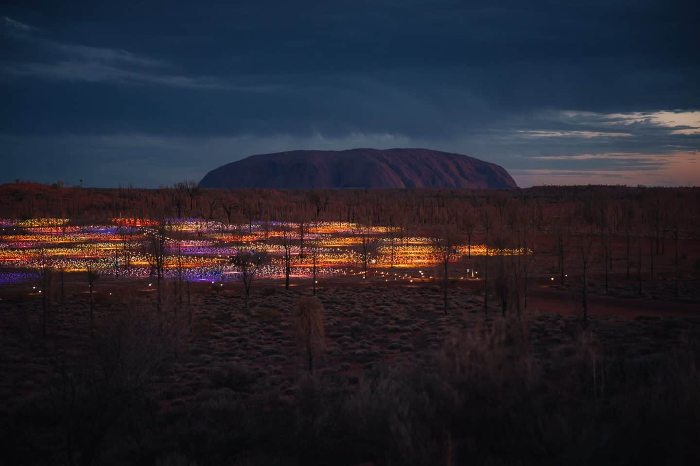 uluru, things to do in uluru, field of light uluru