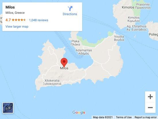 milos map 1