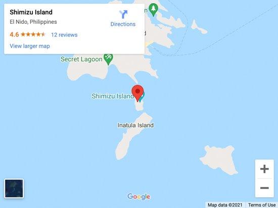 shimizu island map