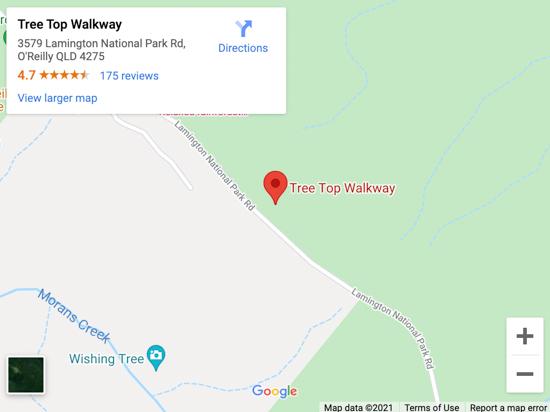 treetop walkway map