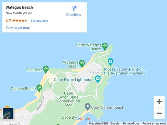 wategos map