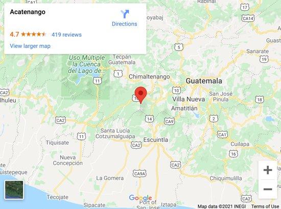 acatenango map