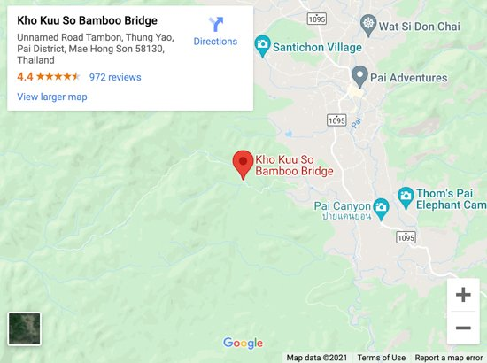 bamboo bridge pai map