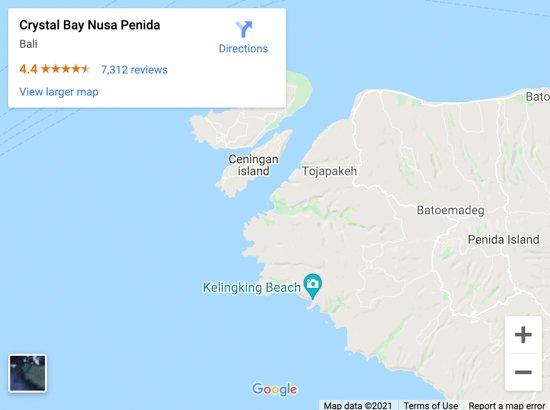 crystal bay map