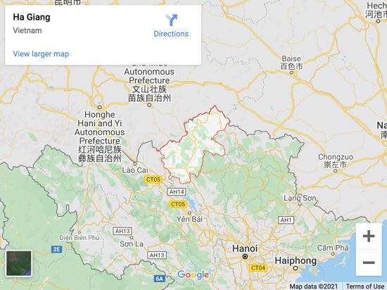 ha giang map