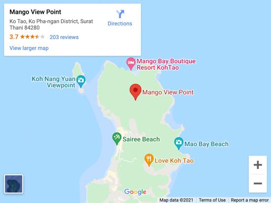 mango viewpoint map