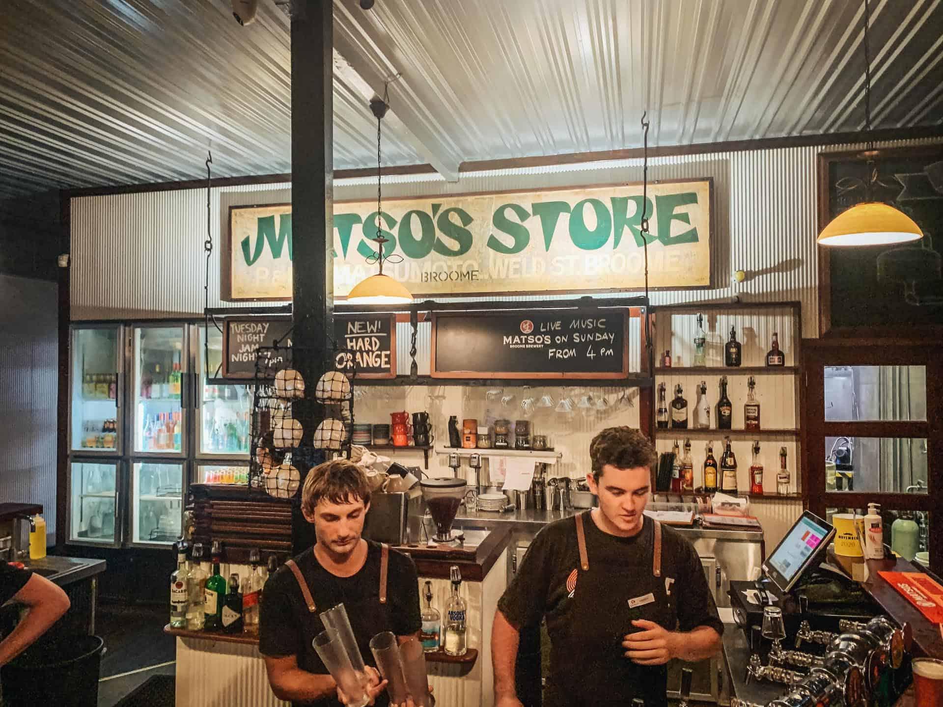broome, broome wa, things to do in broome, broome things to do, matso's brewery, matso's broome brewery
