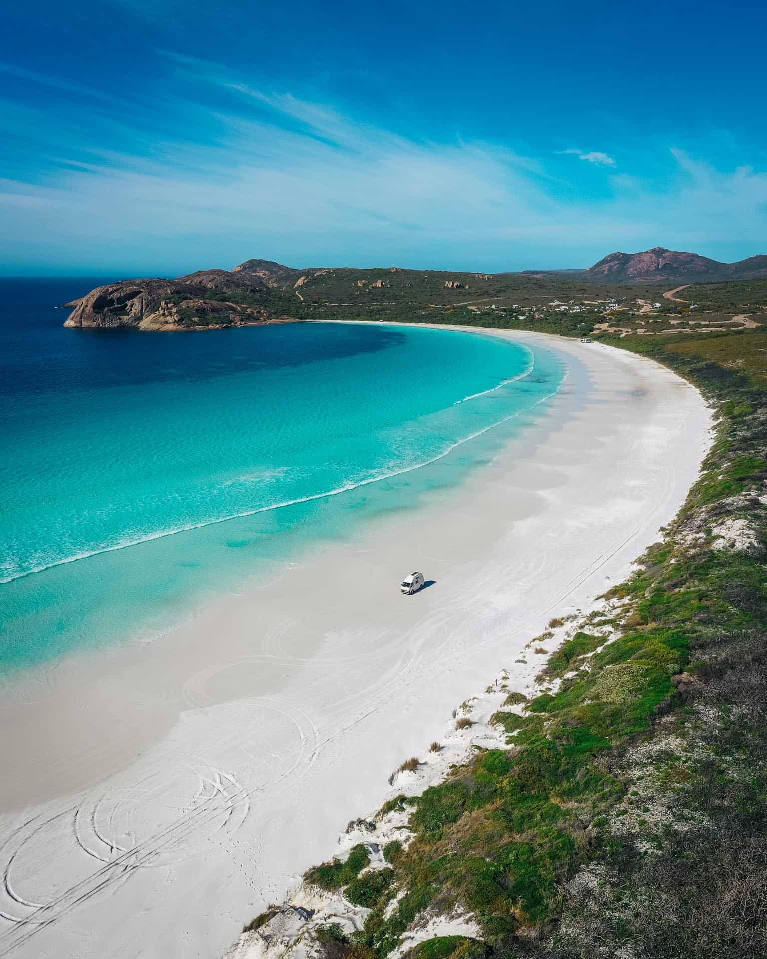 lucky bay esperance, lucky bay, beaches in esperance, esperance beaches